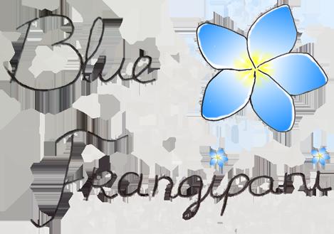 Blue Frangipani Logo - small