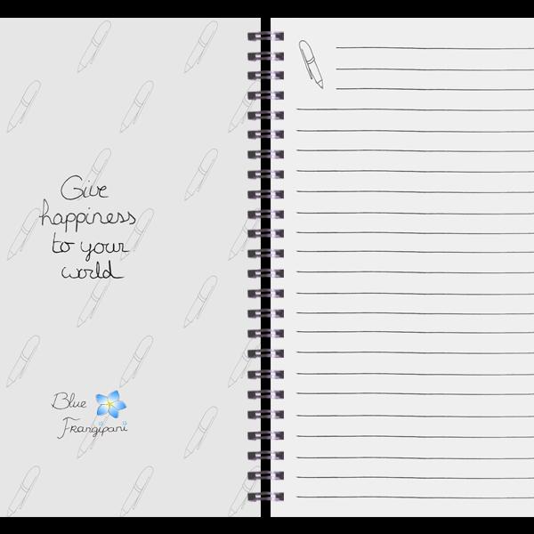 Blue Frangipani Notes