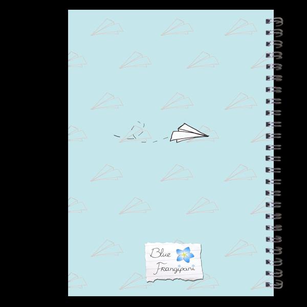 Blue Frangipani Planner